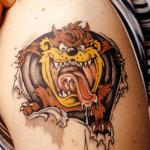 Taz 8 150x150 - 100's of Taz Tattoo Design Ideas Pictures Gallery
