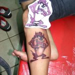 Taz 9 150x150 - 100's of Taz Tattoo Design Ideas Pictures Gallery