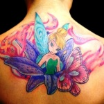 Tinkerbell 11 150x150 - 100's of Tinkerbell Tattoo Design Ideas Pictures Gallery