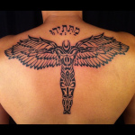Tribal Angel Tattoo1 150x150 - 100's of Tribal Angel Tattoo Design Ideas Pictures Gallery