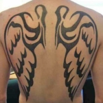 Tribal Angel Tattoo7 150x150 - 100's of Tribal Angel Tattoo Design Ideas Pictures Gallery