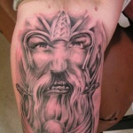 Viking 9 150x150 - 100's of Viking Tattoo Design Ideas Pictures Gallery
