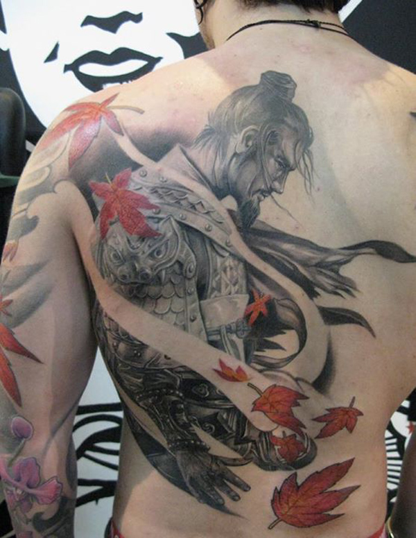 100's of Warrior Tattoo Design Ideas Pictures Gallery