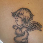 Baby Angel Tattoo Design Ideas Pictures Gallery