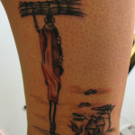 African 4 150x150 - 100's of African Tattoo Design Ideas Pictures Gallery