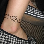 Ankle Tattoos for Girls 11 150x150 - 100's of Ankle Tattoos for Girls Design Ideas Pictures Gallery