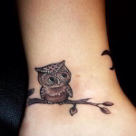 Ankle Tattoos for Girls 12 150x150 - 100's of Ankle Tattoos for Girls Design Ideas Pictures Gallery