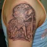 Aquarius Tattoo12 150x150 - 100's of Aquarius Tattoo Design Ideas Pictures Gallery