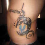Aquarius Tattoo2 150x150 - 100's of Aquarius Tattoo Design Ideas Pictures Gallery