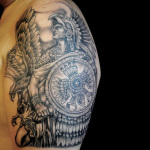 Aztec 4 150x150 - 100's of Aztec Tattoo Design Ideas Pictures Gallery