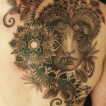 Aztec 6 150x150 - 100's of Aztec Tattoo Design Ideas Pictures Gallery