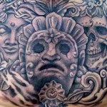 Aztec 8 150x150 - 100's of Aztec Tattoo Design Ideas Pictures Gallery
