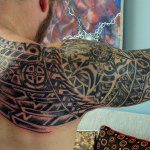 Aztec Tribal Tattoo1 150x150 - 100's of Aztec Tribal Tattoo Design Ideas Pictures Gallery