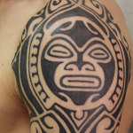 Aztec Tribal Tattoo9 150x150 - 100's of Aztec Tribal Tattoo Design Ideas Pictures Gallery