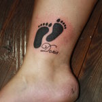 Baby Feet 41 150x150 - 100's of Baby Feet Tattoo Design Ideas Pictures Gallery