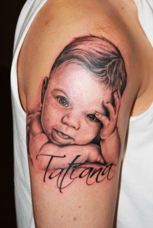 100's of Baby Tattoo Design Ideas Pictures Gallery