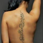 Back Tattoos for Women 10 150x150 - 100's of Back Tattoos for Women Design Ideas Pictures Gallery