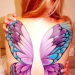 Back Tattoos for Women 12 150x150 - 100's of Back Tattoos for Women Design Ideas Pictures Gallery