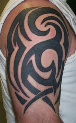 100's of Black Tribal Tattoo Design Ideas Pictures Gallery