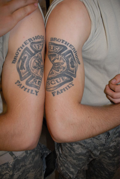 100's of Brother Tattoo Design Ideas Pictures Gallery