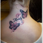 Butterfly Tattoos for Girls 12 150x150 - 100's of Butterfly Tattoos for Girls Design Ideas Pictures Gallery