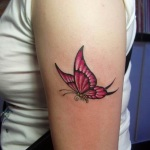 Butterfly Tattoos for Girls 2 150x150 - 100's of Butterfly Tattoos for Girls Design Ideas Pictures Gallery