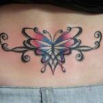 Butterfly Tribal Tattoo10 150x150 - 100's of Butterfly Tattoo Design Ideas Picture Gallery