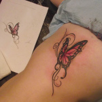 Butterfly Tribal Tattoo3 150x150 - 100's of Butterfly Tribal Tattoo Design Ideas Pictures Gallery