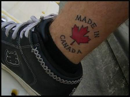 100's of Canadian Tattoo Design Ideas Pictures Gallery