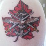 Canadian 10 150x150 - 100's of Canadian Tattoo Design Ideas Pictures Gallery