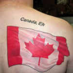 Canadian 7 150x150 - 100's of Canadian Tattoo Design Ideas Pictures Gallery