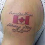 Canadian 8 150x150 - 100's of Canadian Tattoo Design Ideas Pictures Gallery