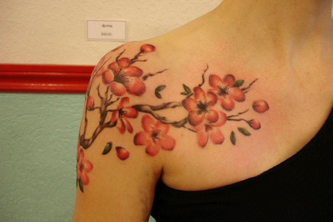 100\u0027s of Cherry Blossom Tattoo Design Ideas Pictures Gallery
