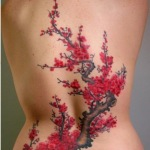 Cherry Blossom Tattoos 10 150x150 - 100's of Cherry Blossom Tattoo Design Ideas Pictures Gallery
