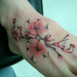 Cherry Blossom Tattoos 5 150x150 - 100's of Cherry Blossom Tattoo Design Ideas Pictures Gallery