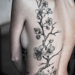 Cherry Blossom Tattoos 9 150x150 - 100's of Cherry Blossom Tattoo Design Ideas Pictures Gallery