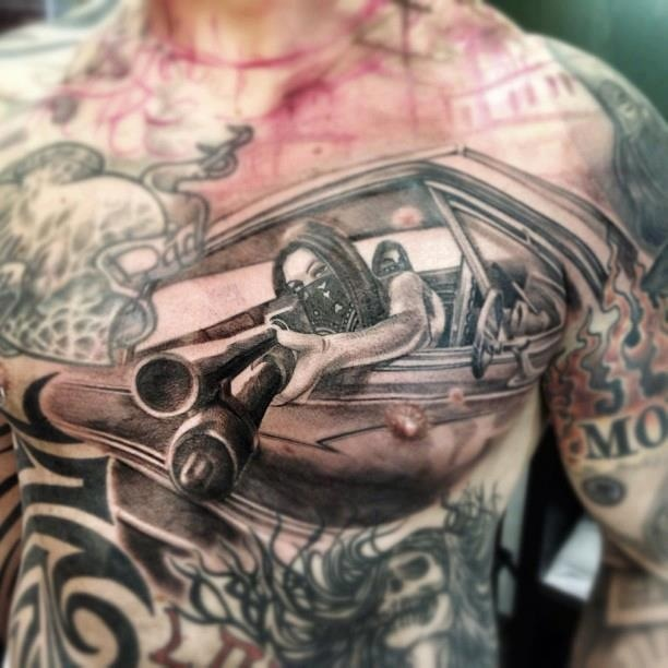 Gallery For gt Mexican Chicano Tattoos