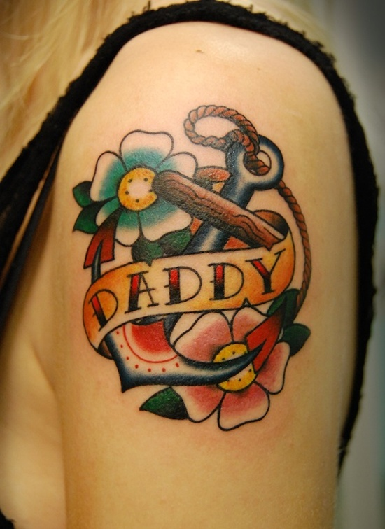100's of Dad Tattoo Design Ideas Pictures Gallery