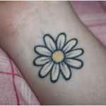 100's of Daisy Tattoo Design Ideas Pictures Gallery