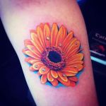 Daisy Tattoos 10 150x150 - 100's of Daisy Tattoo Design Ideas Pictures Gallery