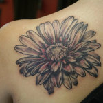 Daisy Tattoos 4 150x150 - 100's of Daisy Tattoo Design Ideas Pictures Gallery