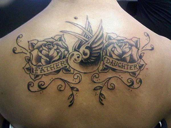 100's of Daughter Tattoo Design Ideas Pictures Gallery