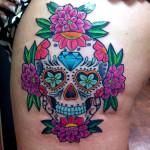 Dia De Los Muertos 3 150x150 - 100's of Dia De Los Muertos Tattoo Design Ideas Pictures Gallery