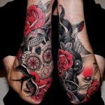 Dia De Los Muertos 5 150x150 - 100's of Dia De Los Muertos Tattoo Design Ideas Pictures Gallery