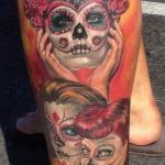 Dia De Los Muertos 8 150x150 - 100's of Dia De Los Muertos Tattoo Design Ideas Pictures Gallery