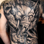 Dragon 31 150x150 - 100's of Dragon Tattoo Art Design Ideas Pictures Gallery