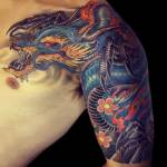 Dragon 91 150x150 - 100's of Dragon Tattoo Art Design Ideas Pictures Gallery