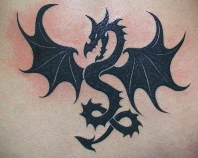 100's of Dragon Black Tattoo Design Ideas Pictures Gallery