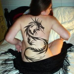 Dragon Black 12 150x150 - 100's of Dragon Black Tattoo Design Ideas Pictures Gallery