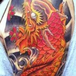 Dragon Fish 10 150x150 - 100's of Dragon Fish Tattoo Design Ideas Pictures Gallery